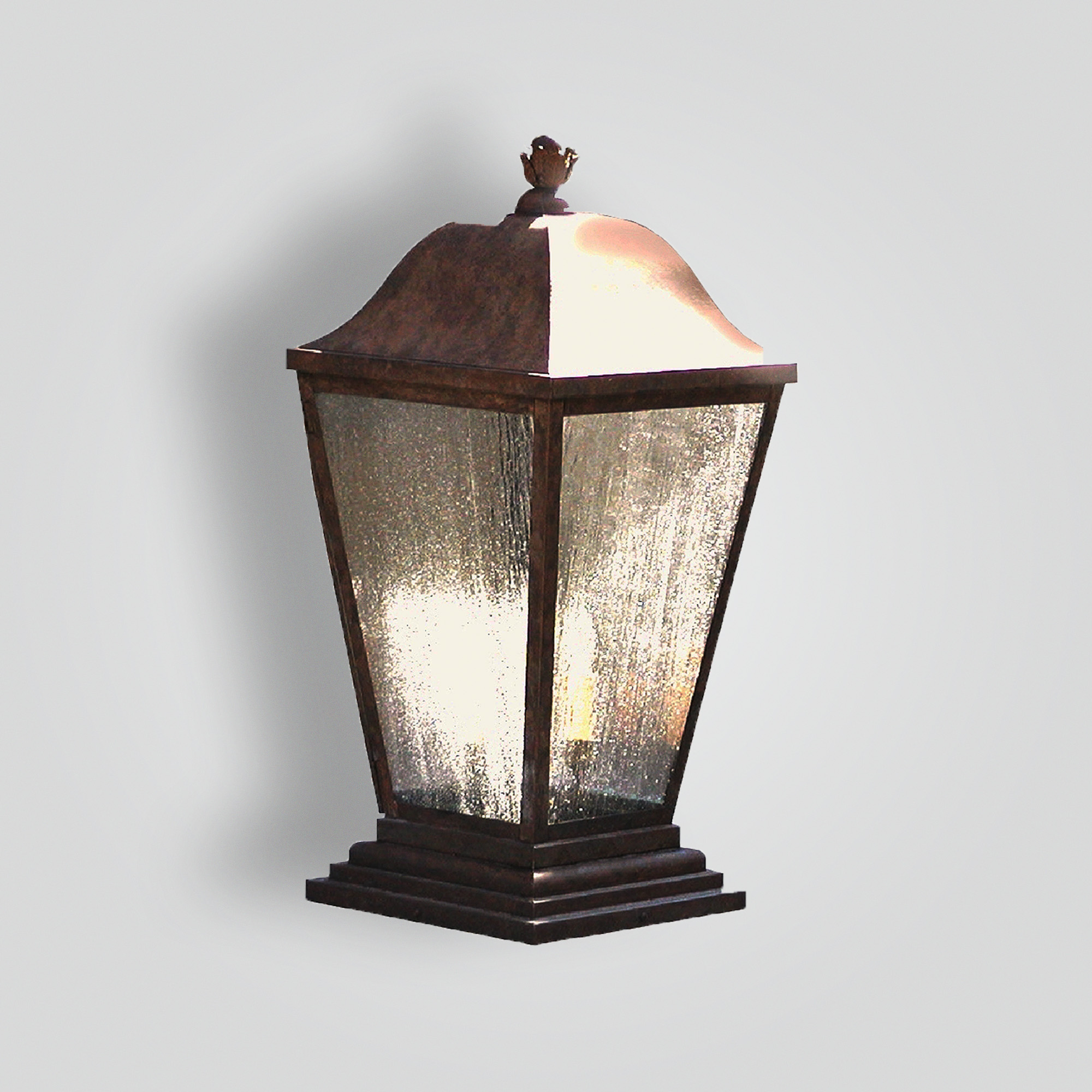 202-cb4-br-p-sh Traditional Pilaster – ADG Lighting Collection