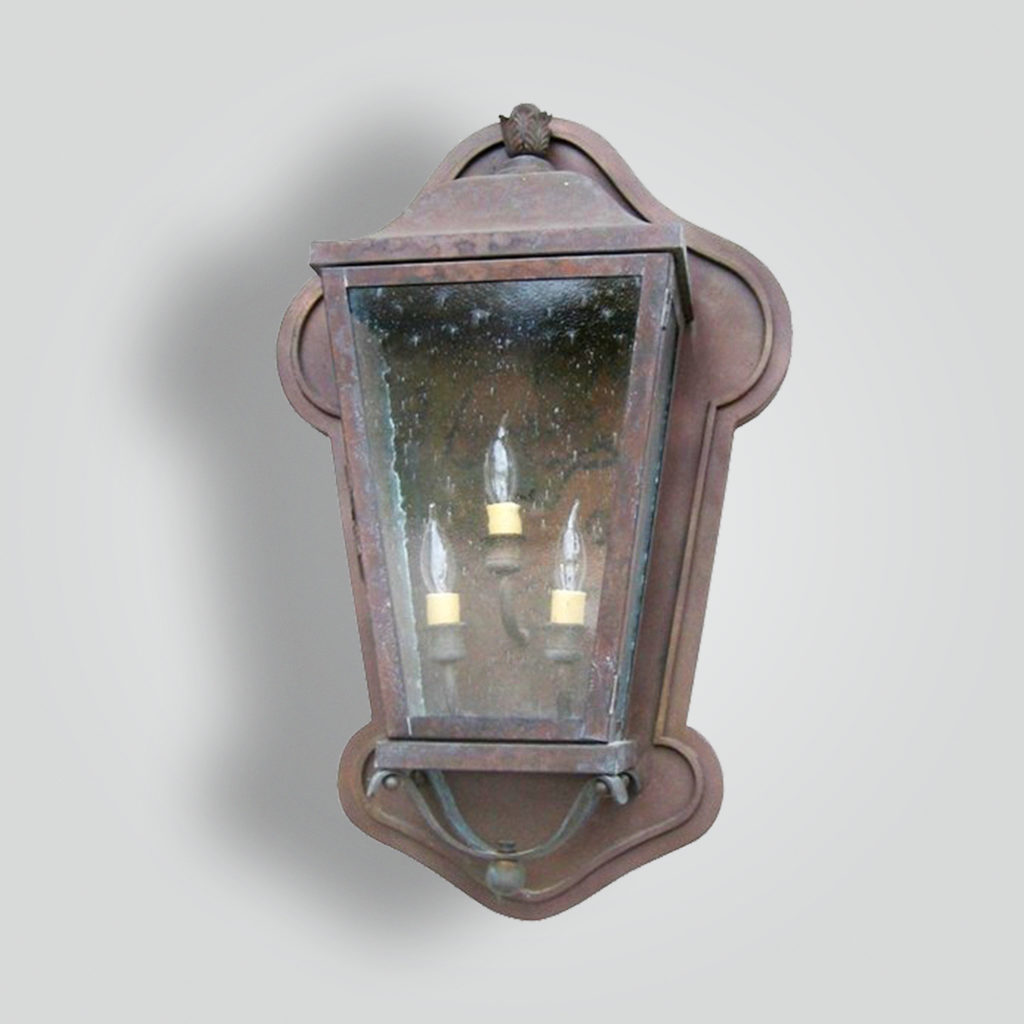 203-cb3-ir-w-ba Calabasas Lantern – ADG Lighting Collection
