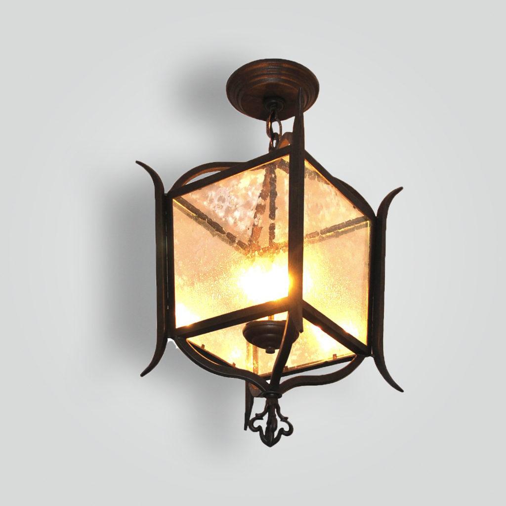 2040-cb3-ir-h-ba-iron-spike-square-lantern – ADG Lighting Collection