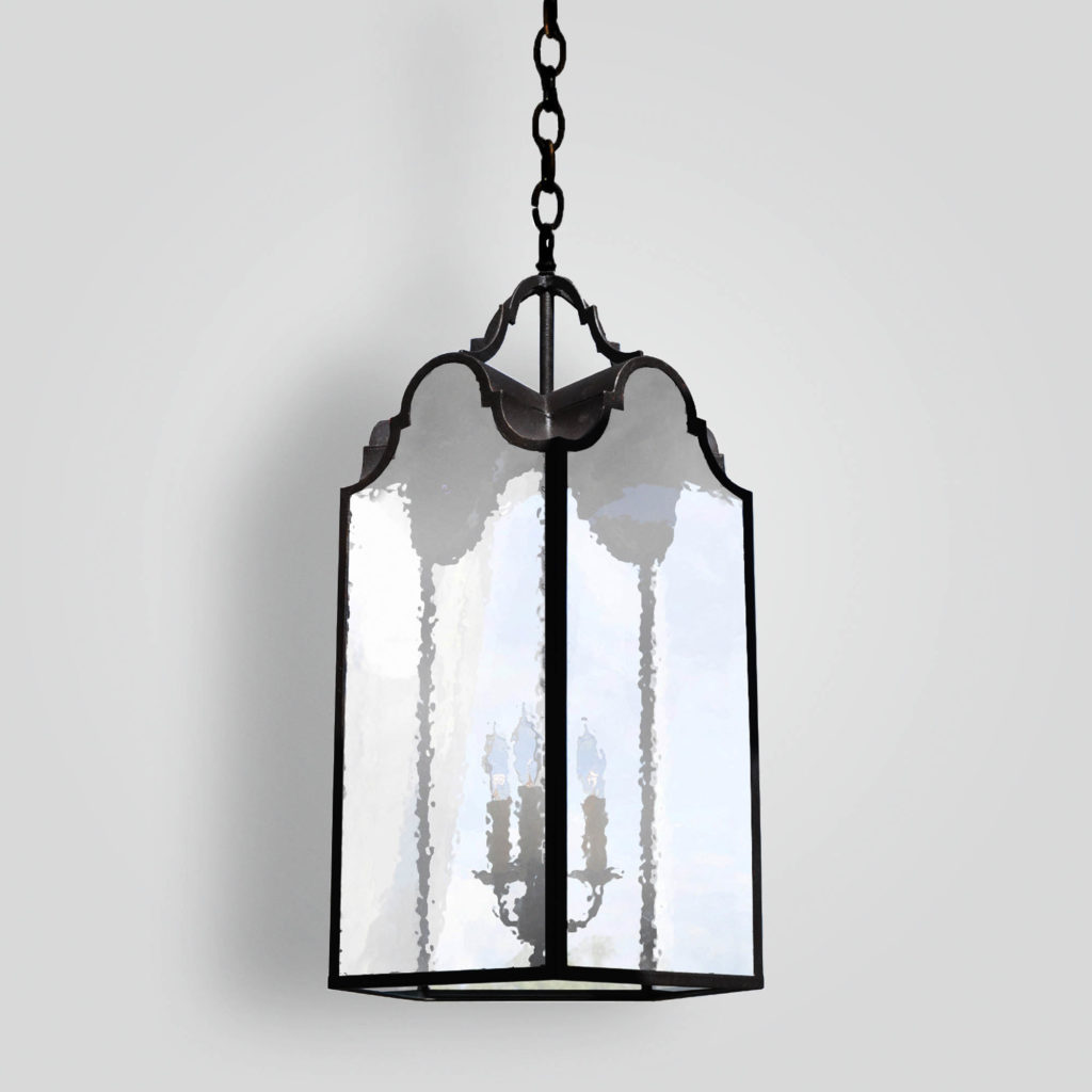 2110-cb4-ir-h-ba 5-sided Lantern Transitional – ADG Lighting Collection