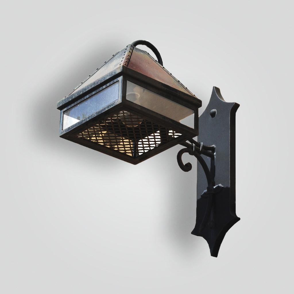 220-mb1-ir-w-ba Dantes Wall Lantern – ADG Lighting Collection