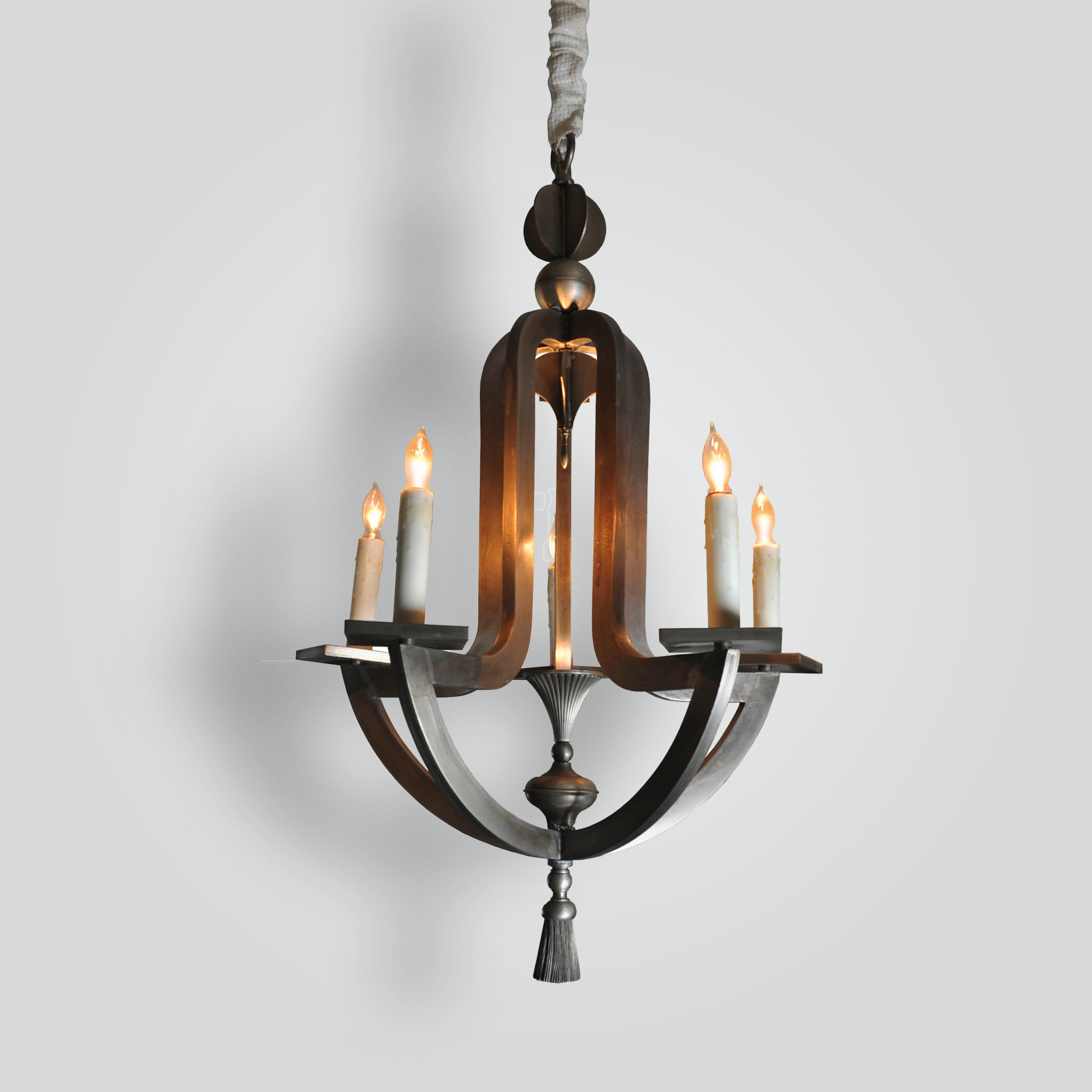 22468-mb5-br-h-sh-hand-made-pewter-finished-chandelier-with-led-uplight – ADG Lighting Collection