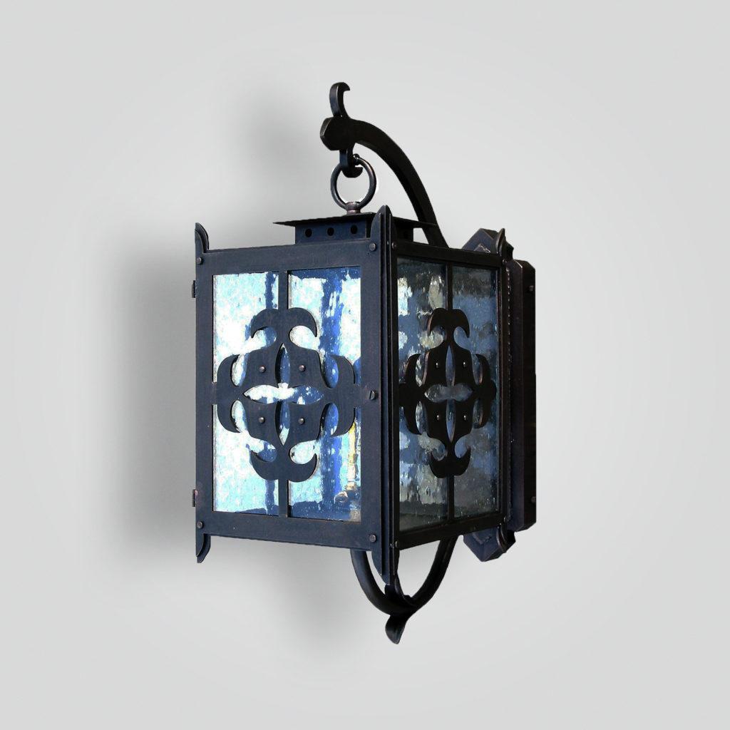 230-mb1-ir-w-ba Waterjet Cut Lantern – ADG Lighting Collection