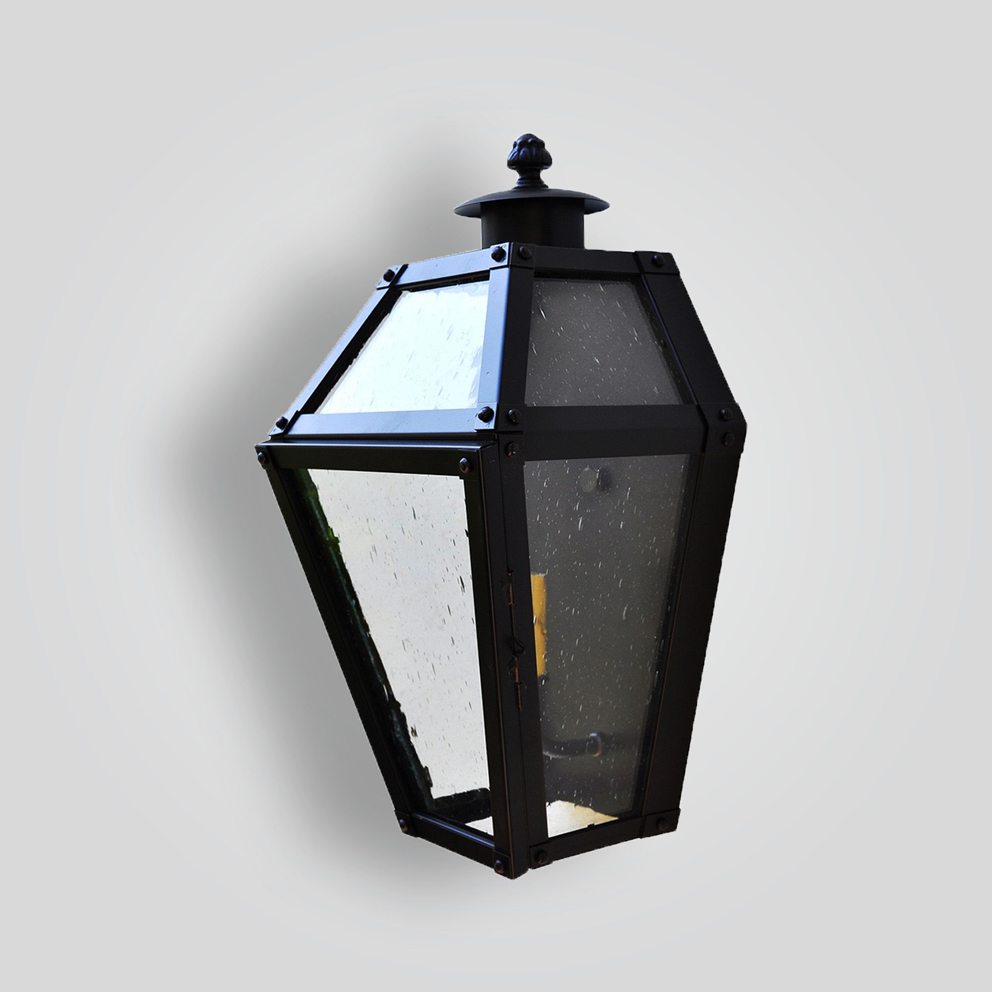 261-cb1-br-w-sh Traditional Lantern – ADG Lighting Collection