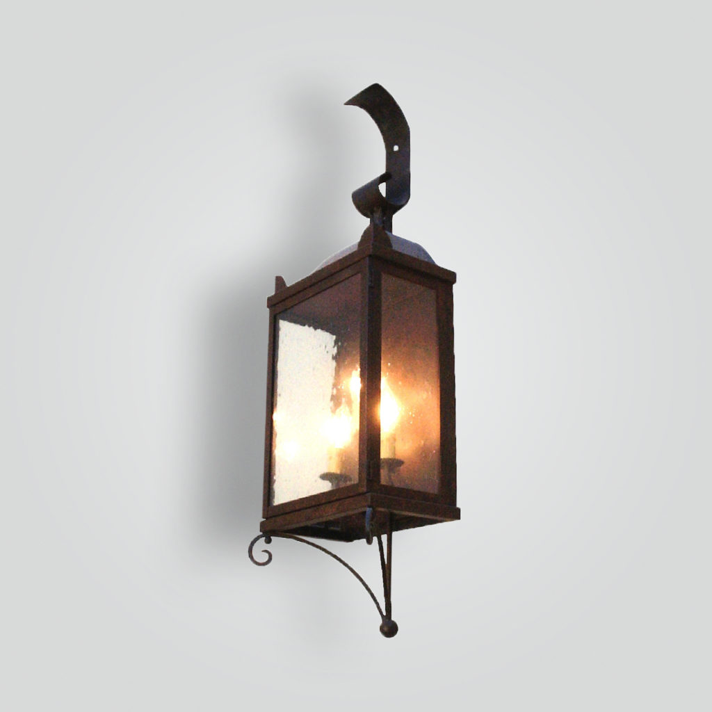 270-cb2-br-w-sh Simple Wall Sconce – ADG Lighting Collection