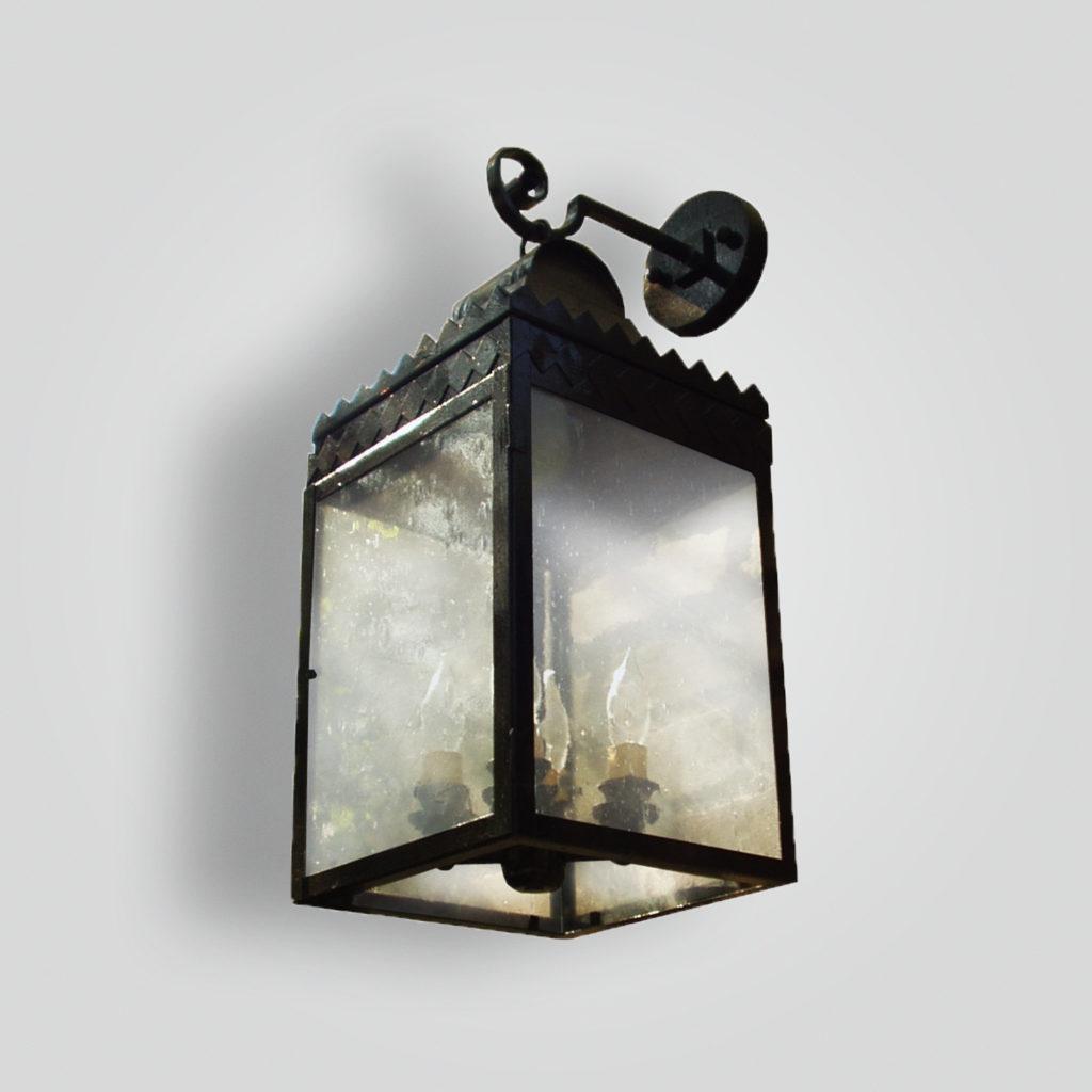 299-cb4-br-w-sh Traditional Lantern – ADG Lighting Collection