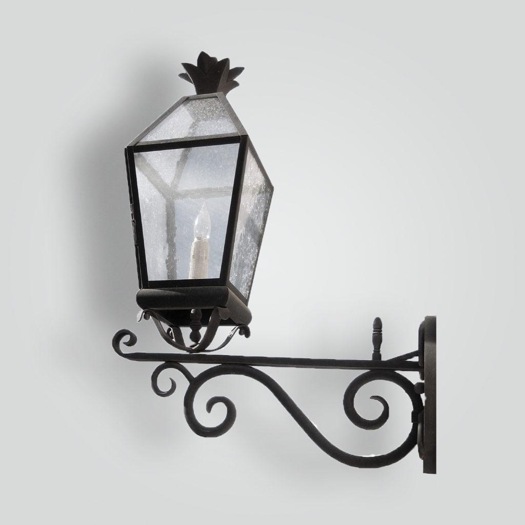 411-mb1-br-w-shbr-hal Crow Lantern – ADG Lighting Collection