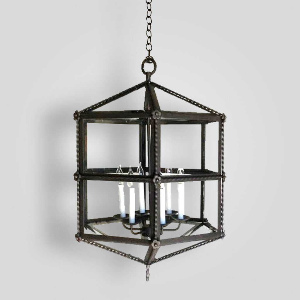 468-6-cb6-ir-pen-sh Isaacs Hanging Lantern – ADG Lighting Collection