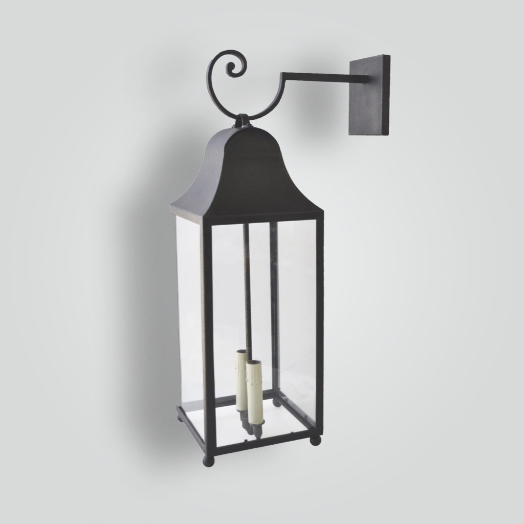 525-5-cb2-ir-w-ba Roger's Wall Lantern – ADG Lighting Collection