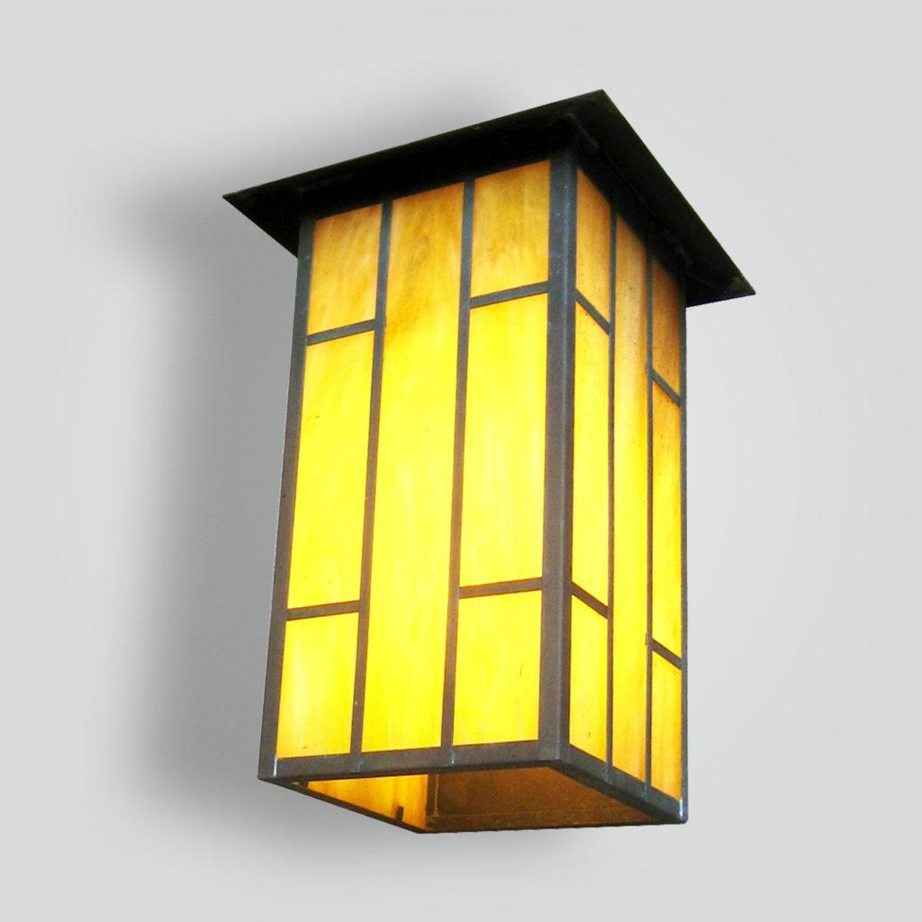 530-cfl-br-w-sh Ambrose Craftsman Lantern – ADG Lighting Collection