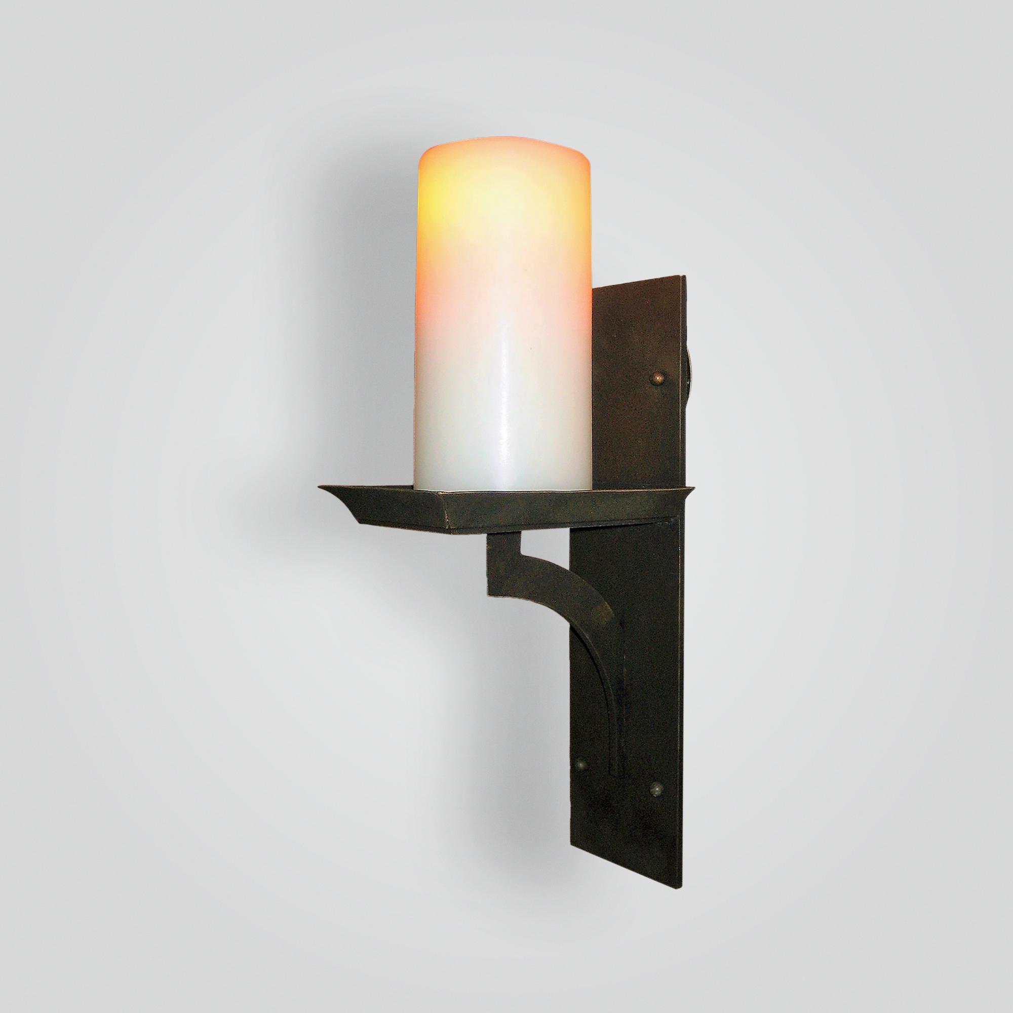 5300-led-br-br-s-ba Oil Rubbed Bronze Sconce – ADG Lighting Collection