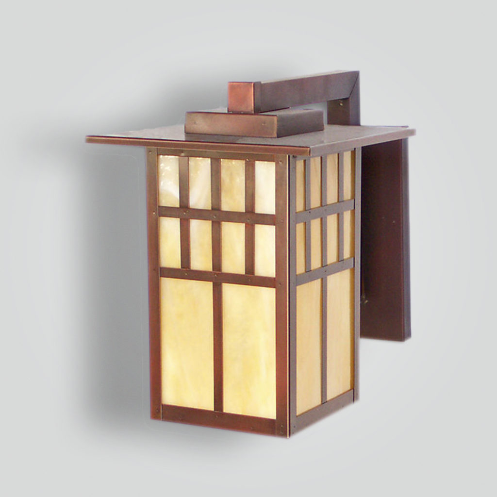 533-mb1-br-w-sh-brass Craftsman Lantern – ADG Lighting Collection