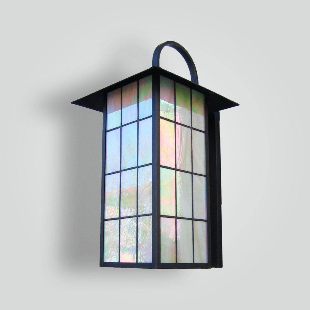 539-cfl-br-w-sh Craftsman Lantern With CFL Title – ADG Lighting Collection