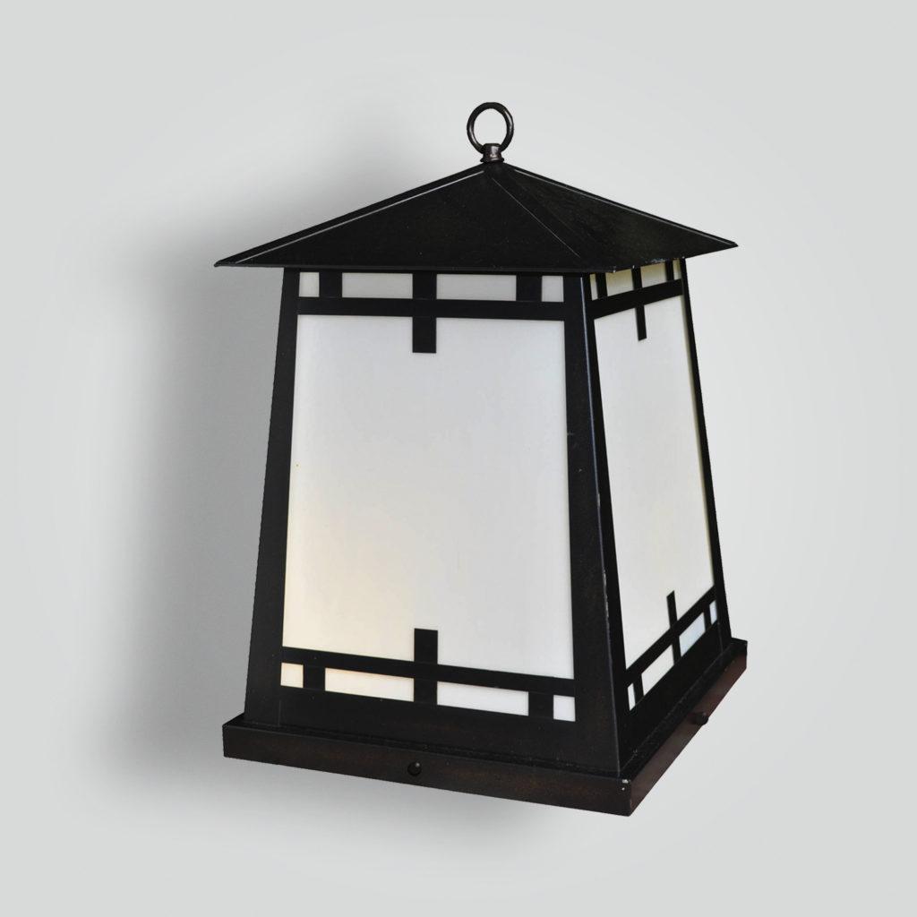 539-ind-br-p-sh Craftsman Lantern Induction Light – ADG Lighting Collection