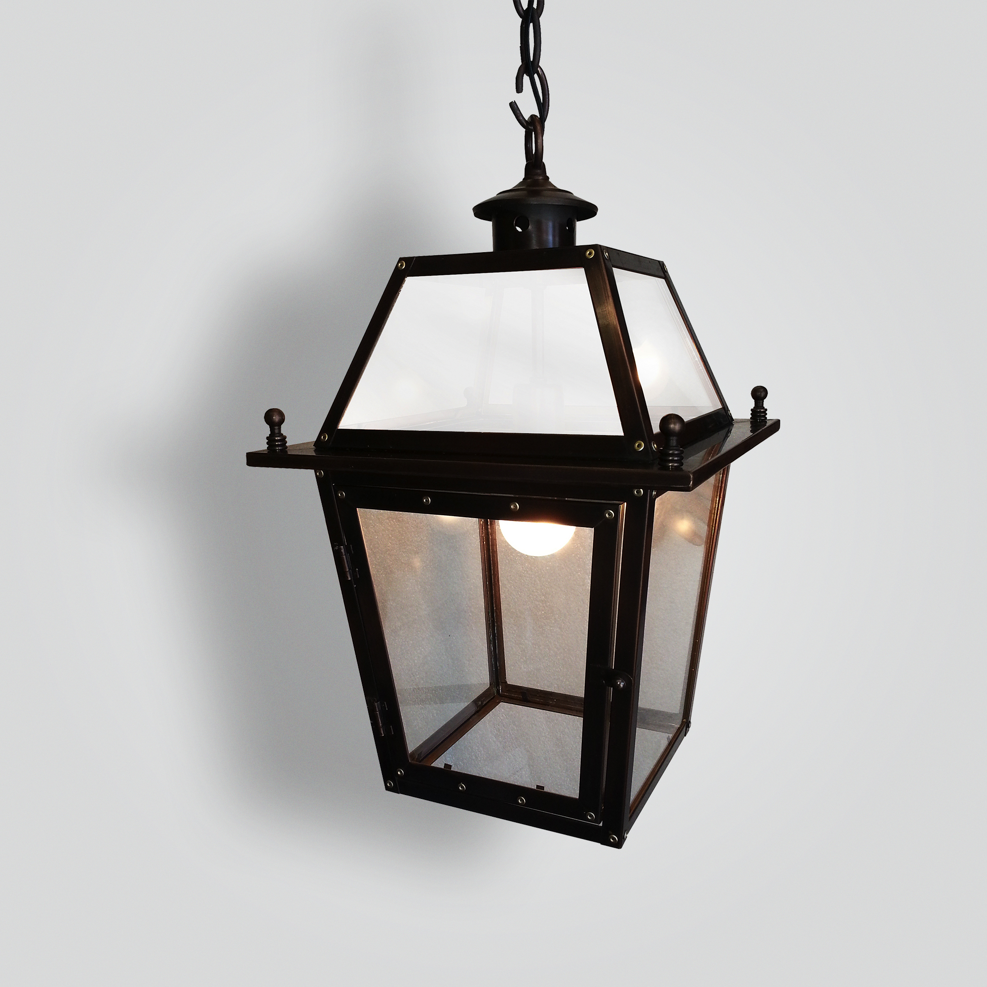 551-mb1-br-h-sh Copper Bronze Carriage Hanging Lantern – ADG Lighting Collection