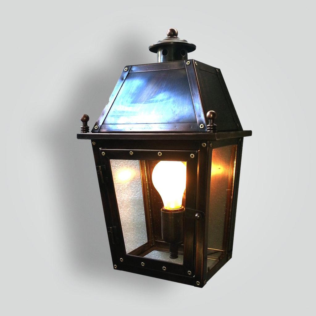 552-mb1-br-w-sh Wall Lantern – ADG Lighting Collection