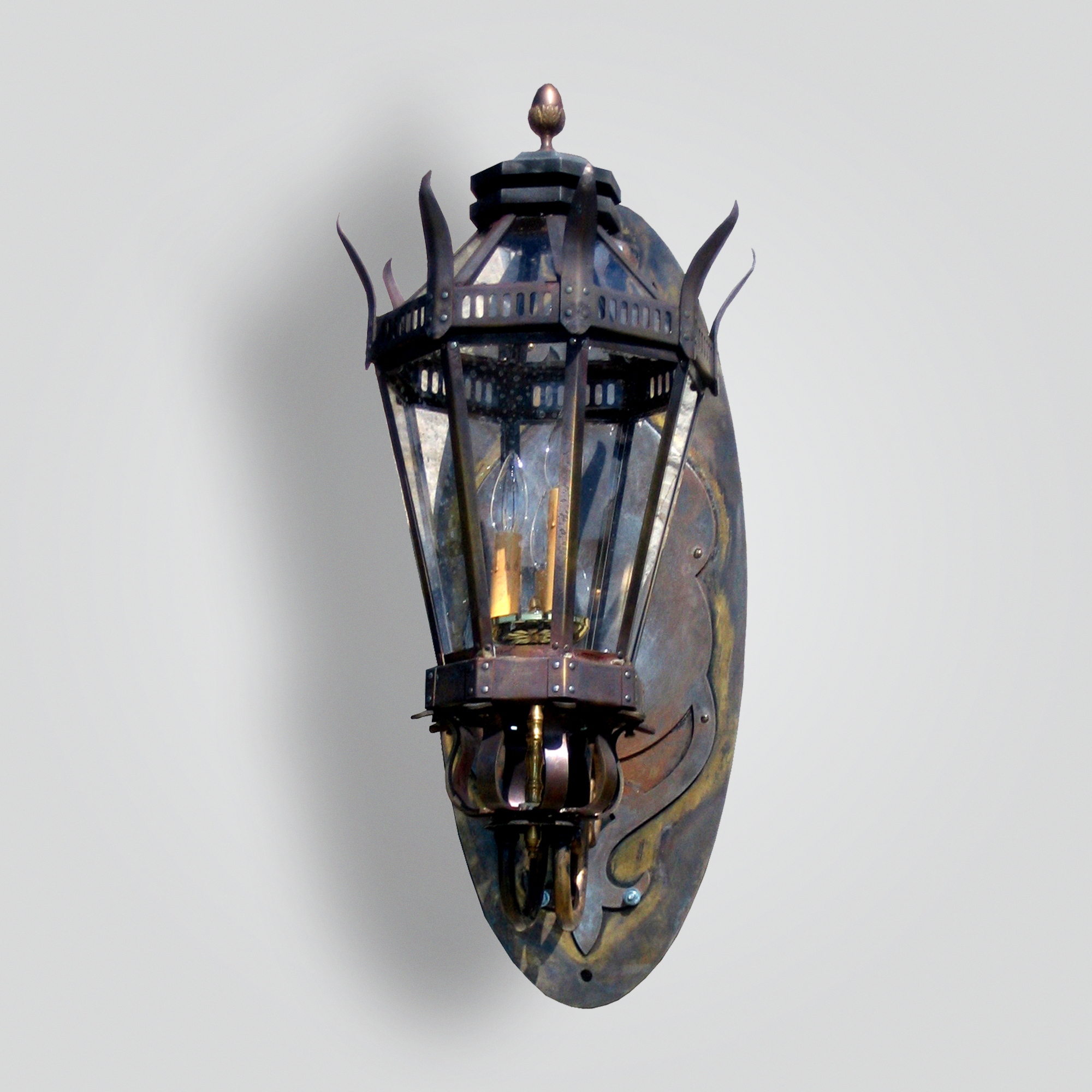 560-cb3-bral-w-shba Bernadette Lantern – ADG Lighting Collection