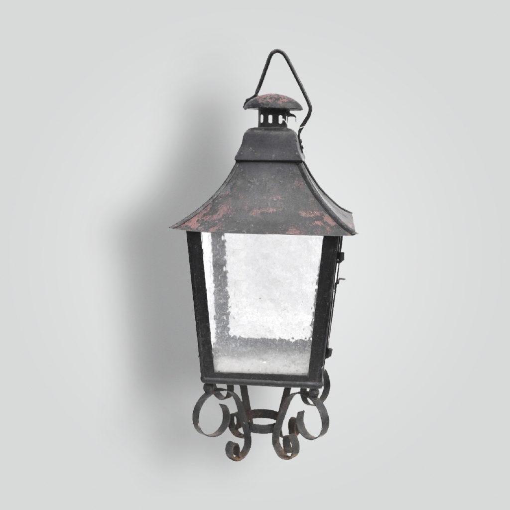 580-mb1-ir-p-ba Large Pilaster Lantern – ADG Lighting Collection