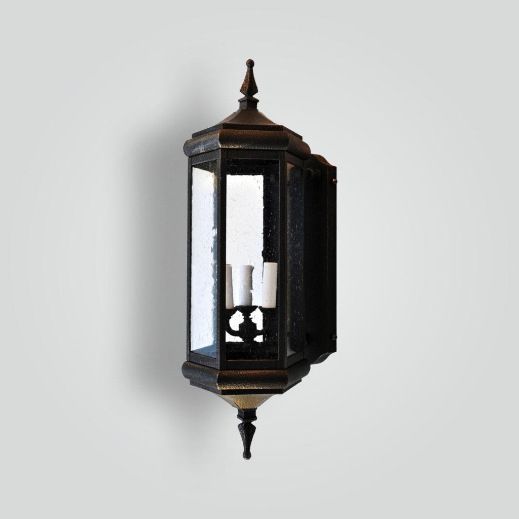 632-cb3-ir-w-sh Transitional Lantern – ADG Lighting Collection