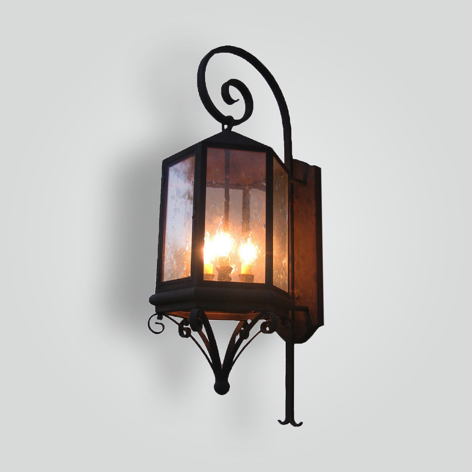 682-cb4-br-w-shba Kane Transitional Lantern – ADG Lighting Collection