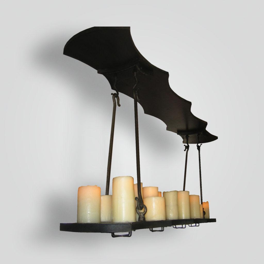 7150-cb18-ir-h-fr Platform Pendant – ADG Lighting Collection