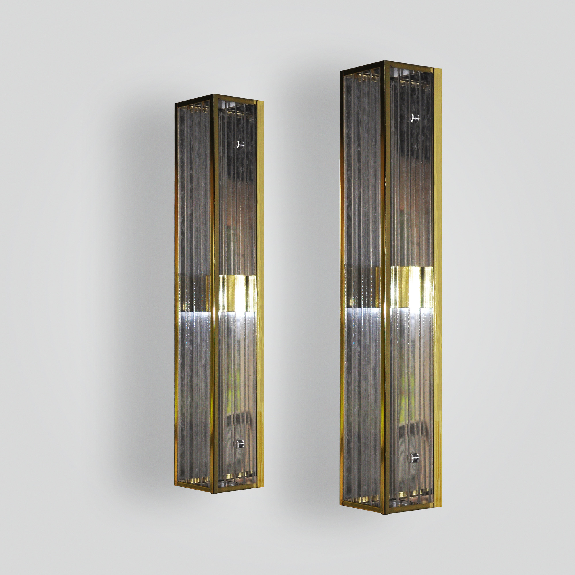 7181-mb2-br-s-sh-polished-brass-wall-sconce-with-ribbed-acrylic-panels – ADG Lighting Collection