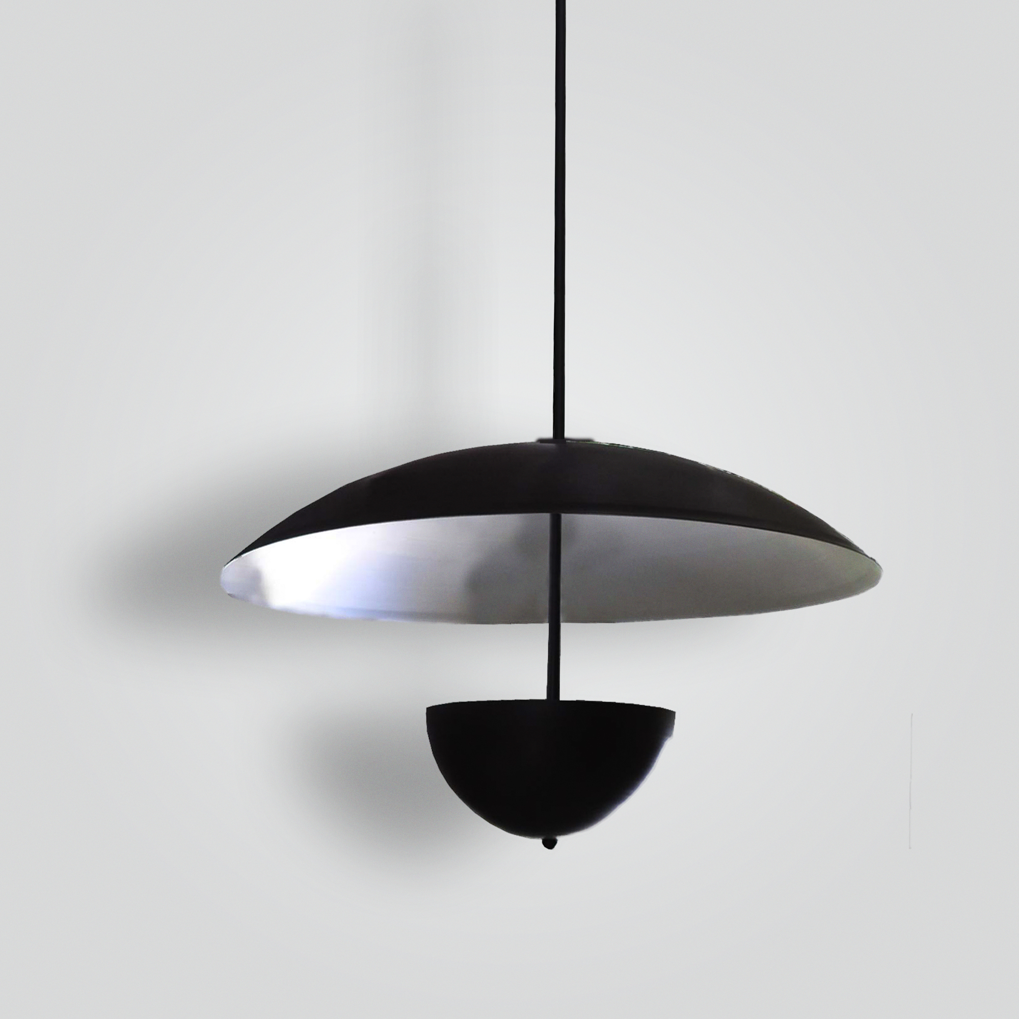 7190-mb2-al-h-sh 1950-style Chicago Pendant – ADG Lighting Collection