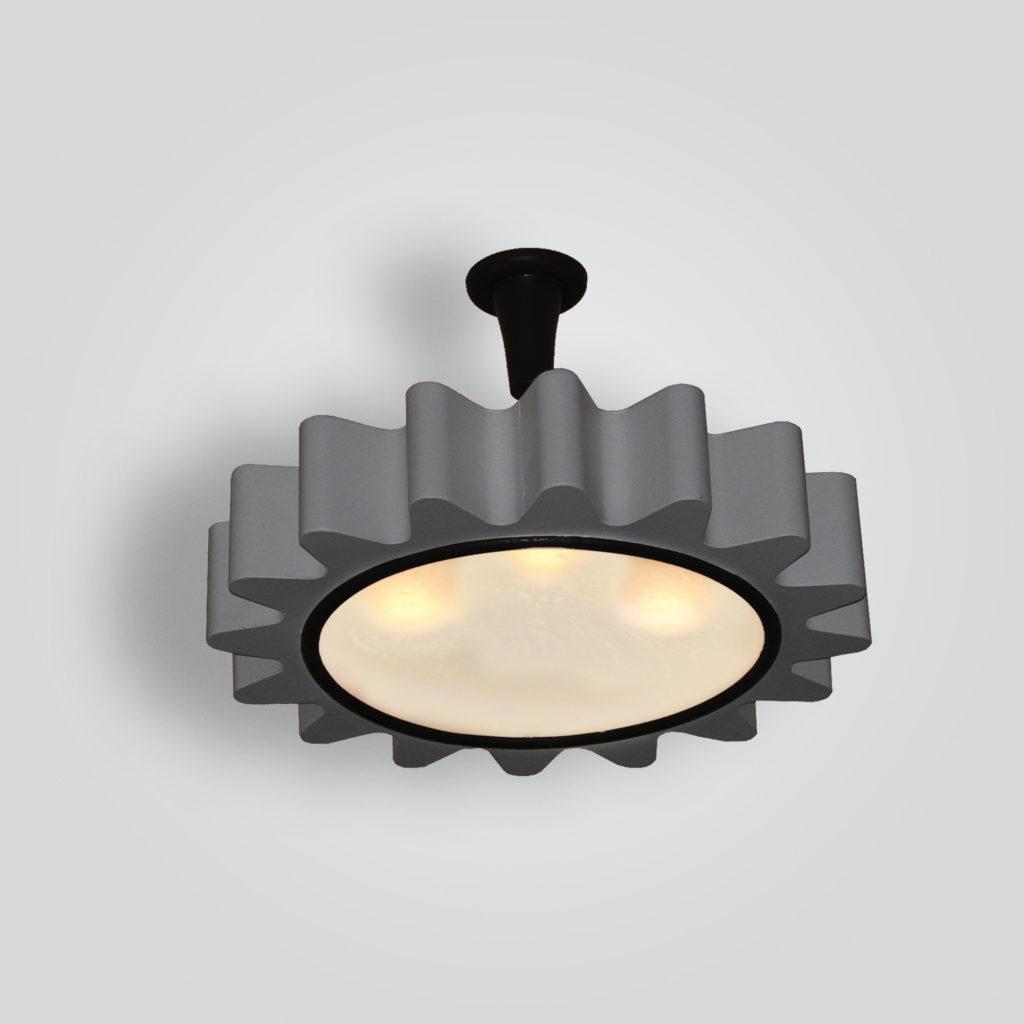 7195-5-led-st-pen-sh Spago Gear Ceiling Light – ADG Lighting Collection