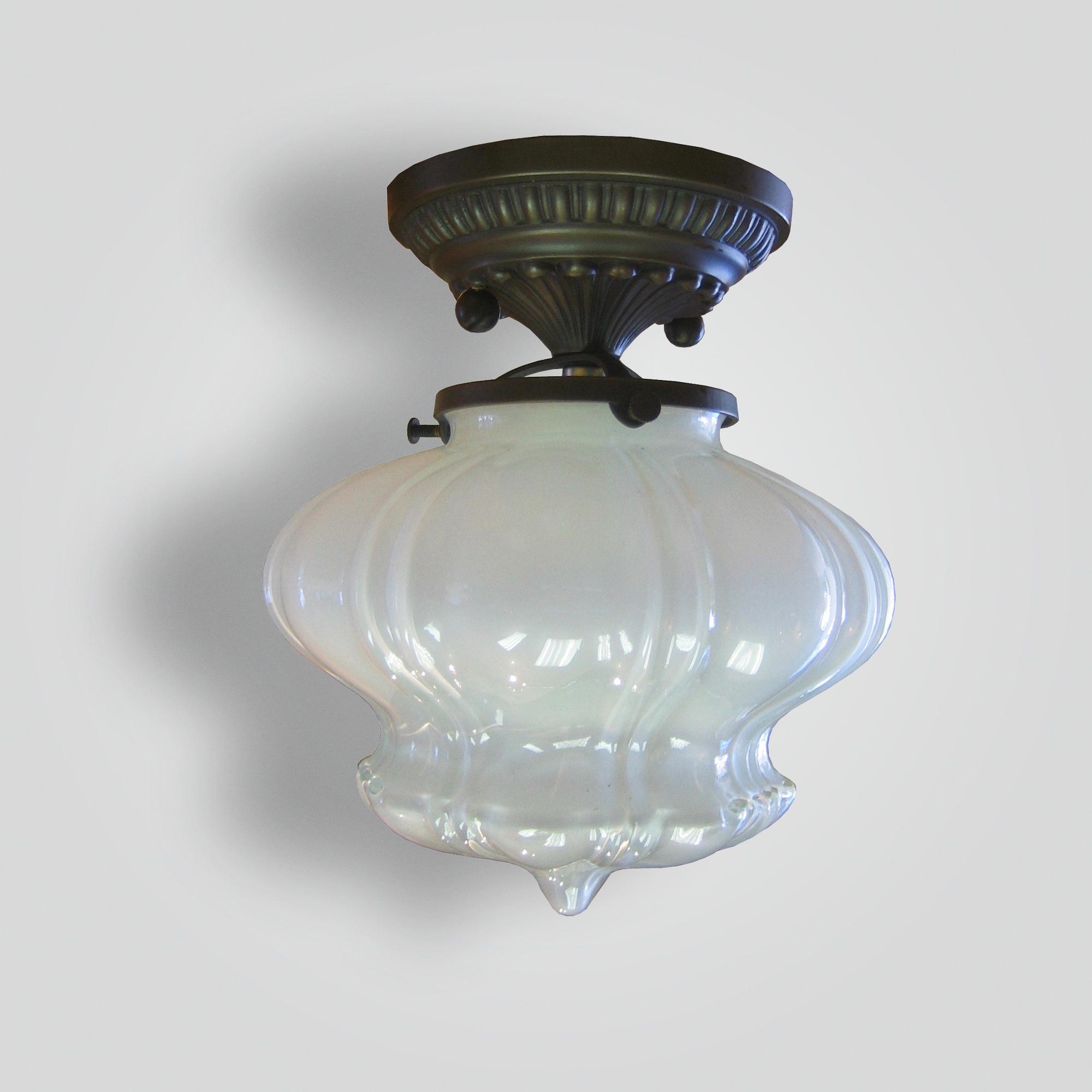 7282-mb1-brgl-h-ca-vaseline-glass-ceiling-flush – ADG Lighting Collection