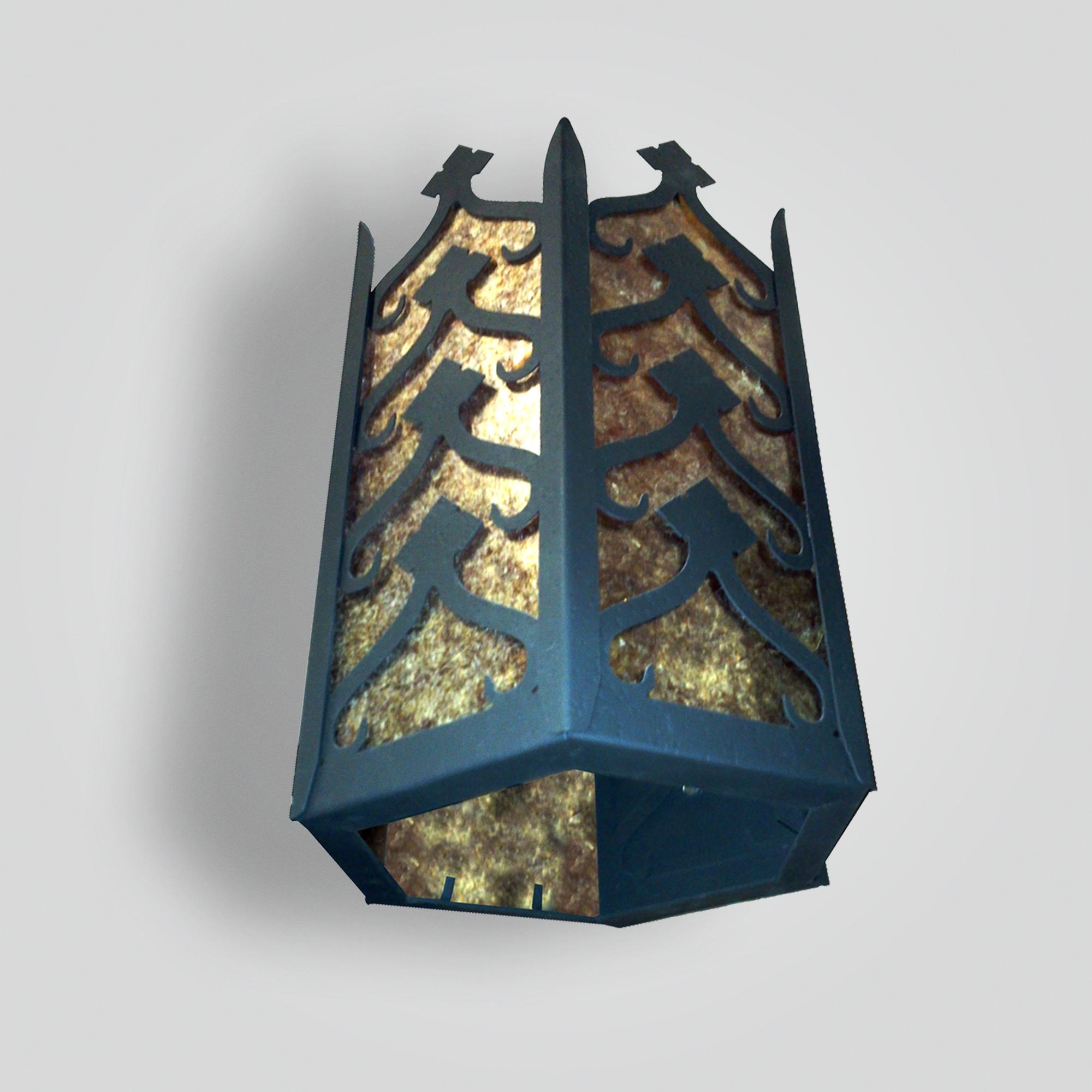 732-mb1-st-w-sh Morroco 6-sided Lantern – ADG Lighting Collection