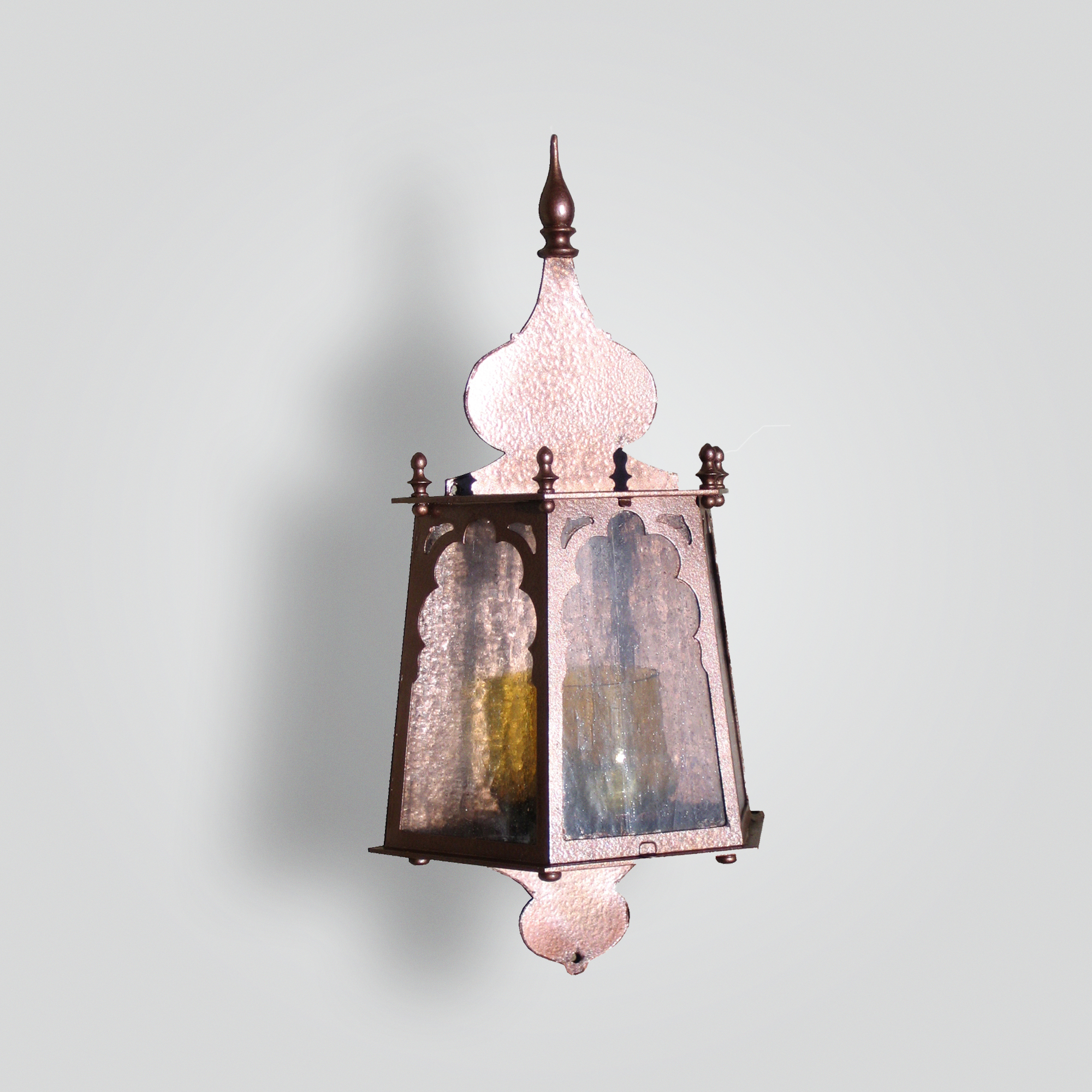735-mb1-st-w-sh Domes Exterior Light – ADG Lighting Collection