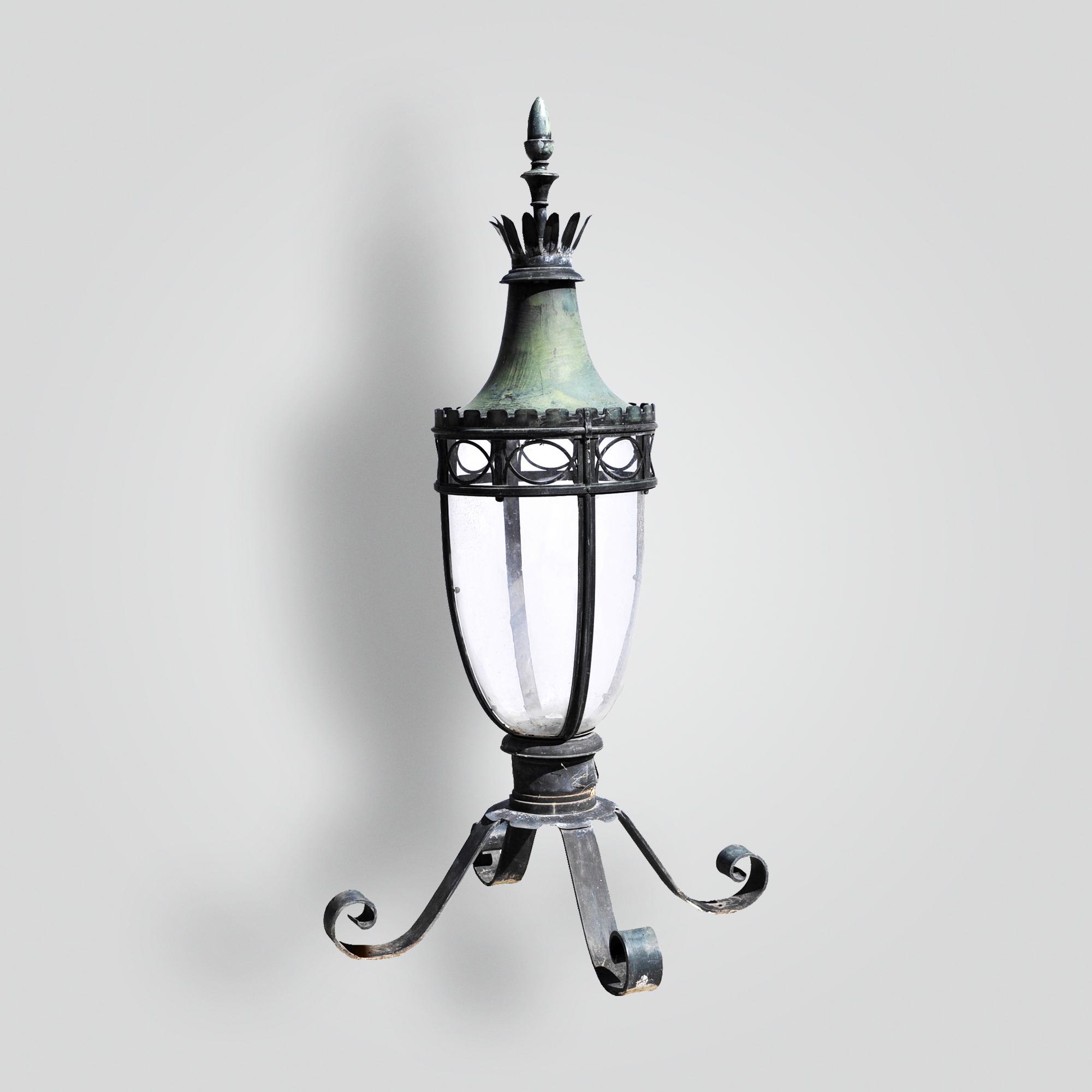 750-mb1-br-p-ba Georgian Pilaster Lantern – ADG Lighting Collection