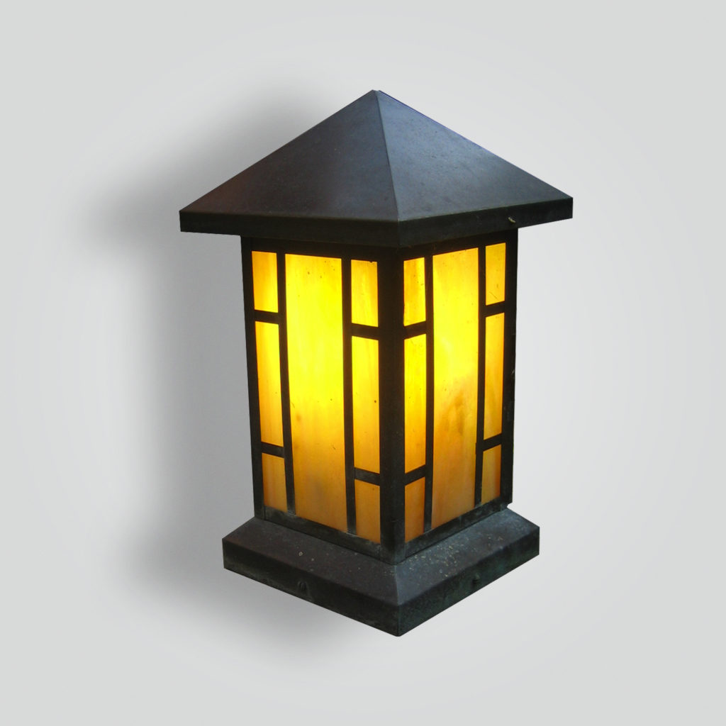 800-mb1-br-p-sh Craftsman Lantern – ADG Lighting Collection