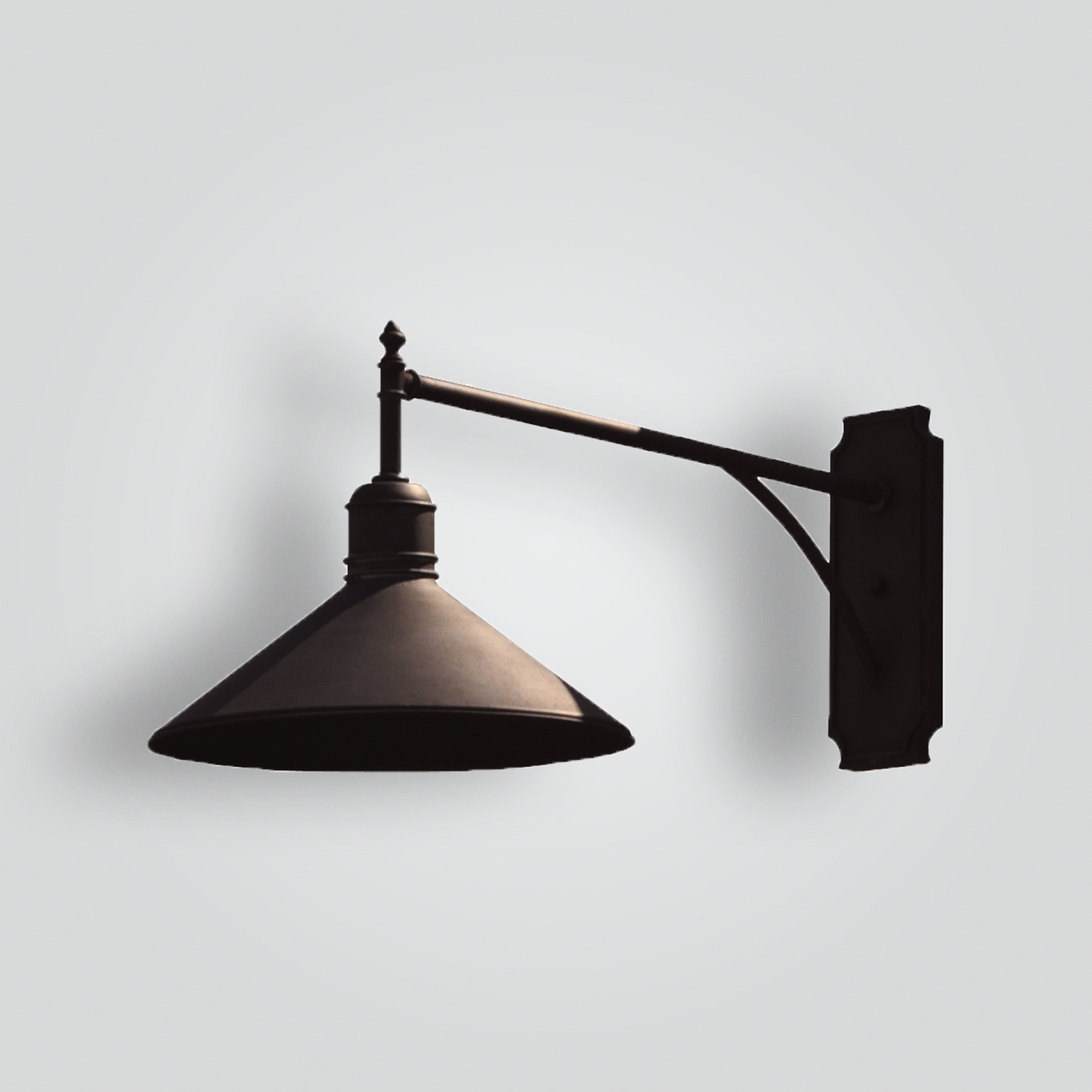 80598-mb1-ir-w-ba-side-view-brass-shade-wall – ADG Lighting Collection