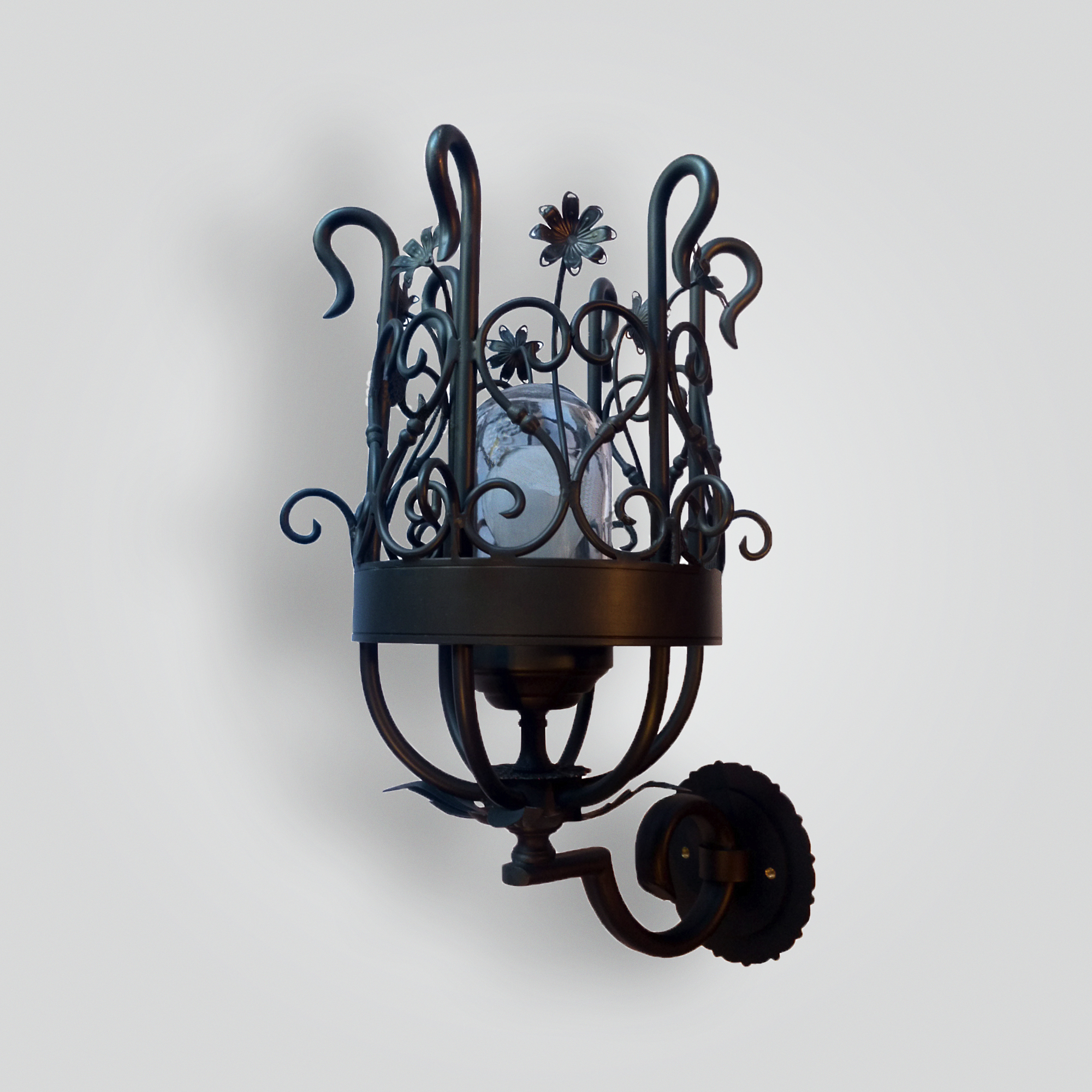833-mb1-br-w-ba-scroll-and-flower-torchiere-wall-sconce – ADG Lighting Collection