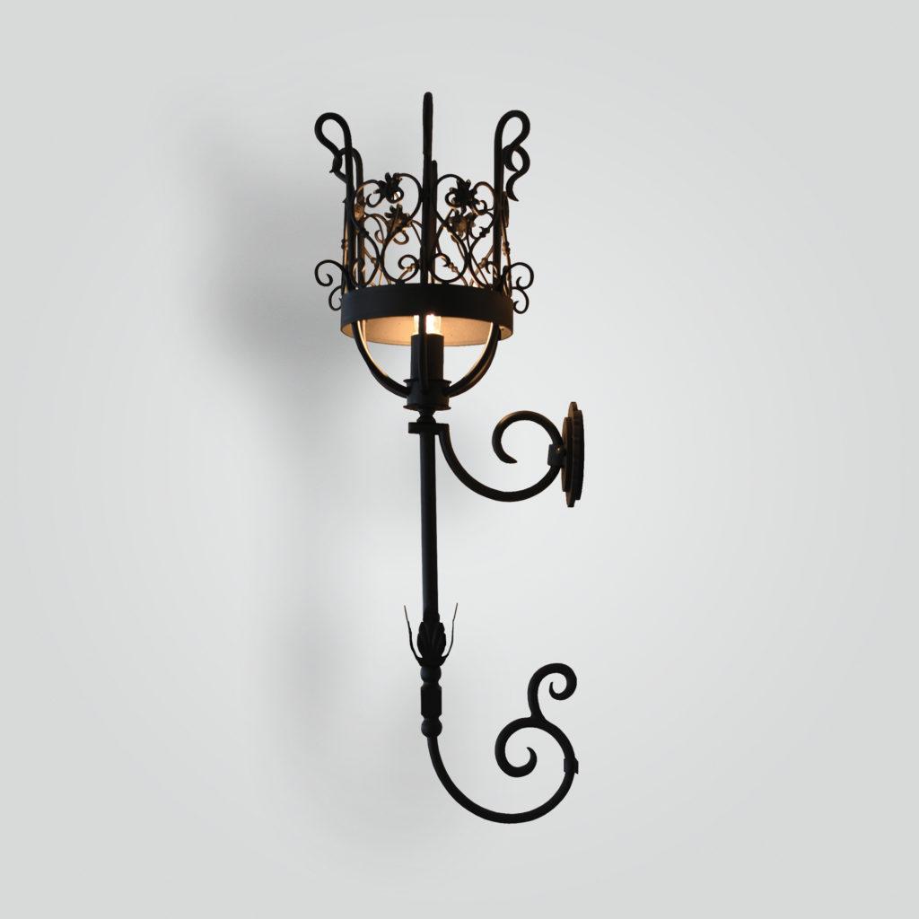 835 Dunham Wall Sconce Basket – ADG Lighting Collection