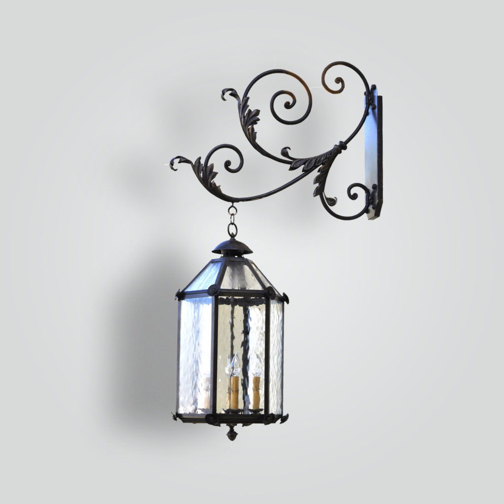 842-cb4-italian-lantern-on-scrolled-arm – ADG Lighting Collection