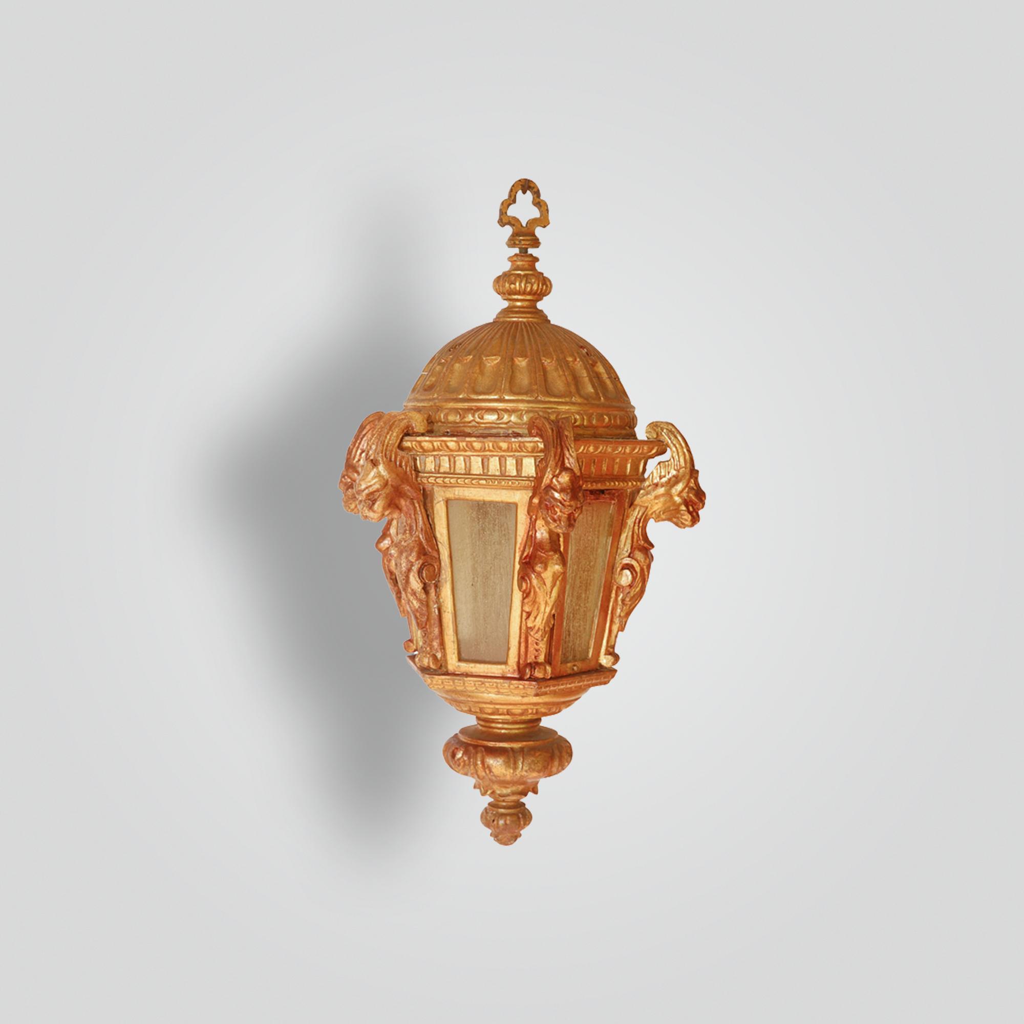 844-mb1-res-h-ca-reproduction-gargoyle-wood-lantern – ADG Lighting Collection