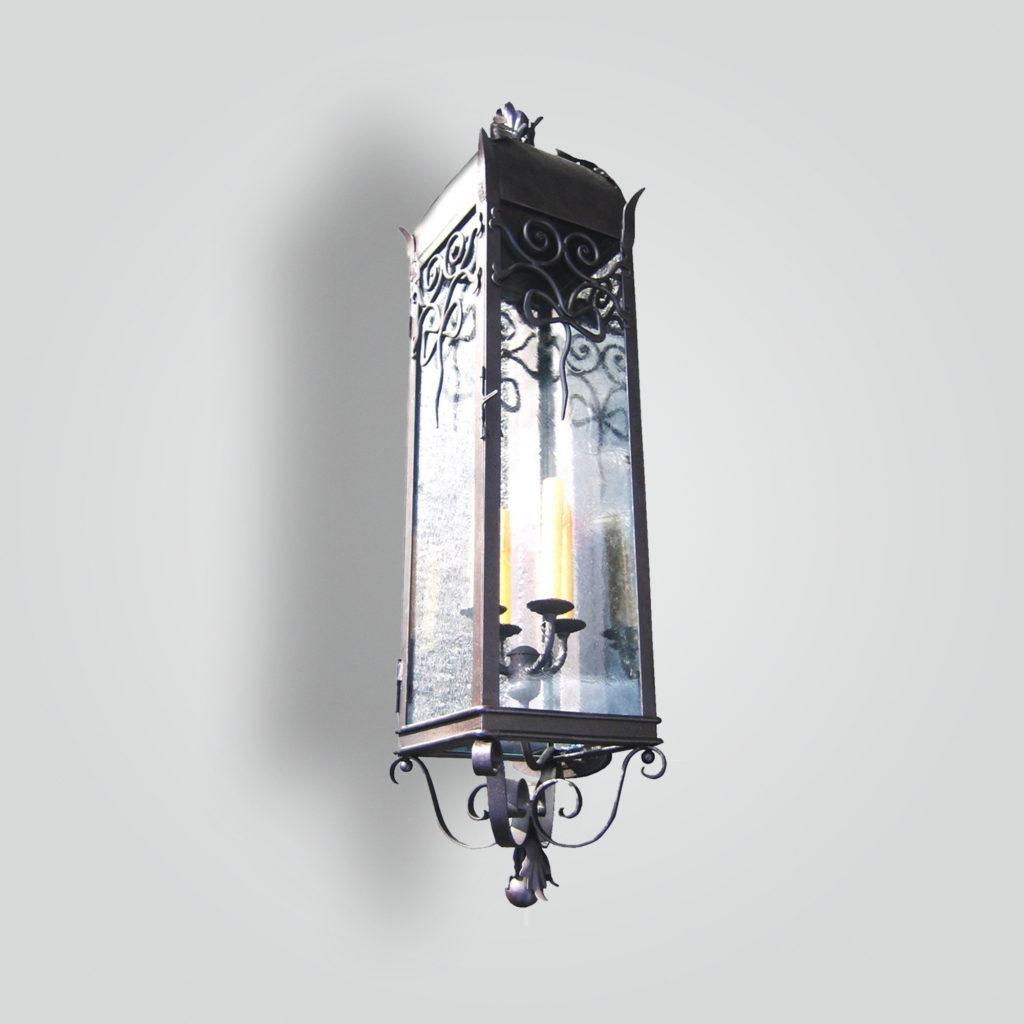 870-cb4-ir-w-ba-diagonal-mounted-wall-lantern – ADG Lighting Collection