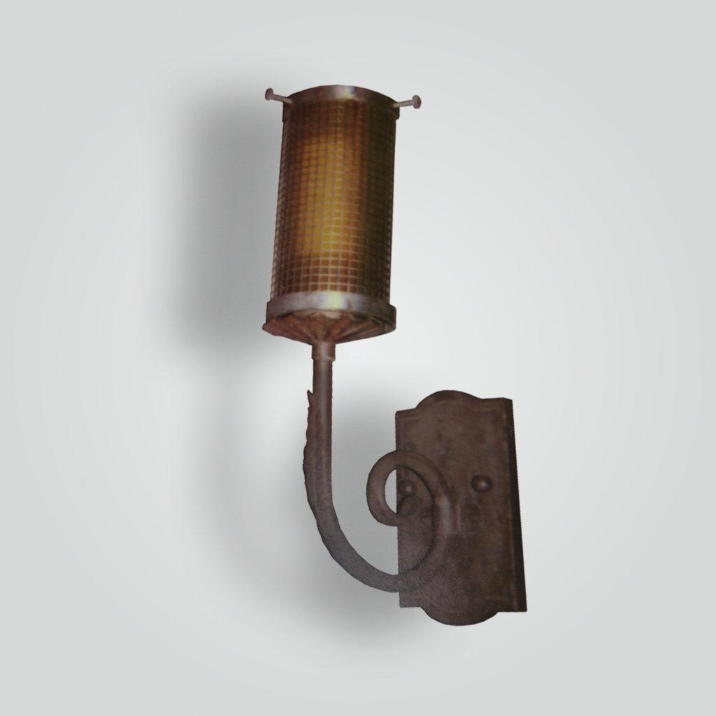 882-led-st-s-sh LED Light Mesh Sconce – ADG Lighting Collection