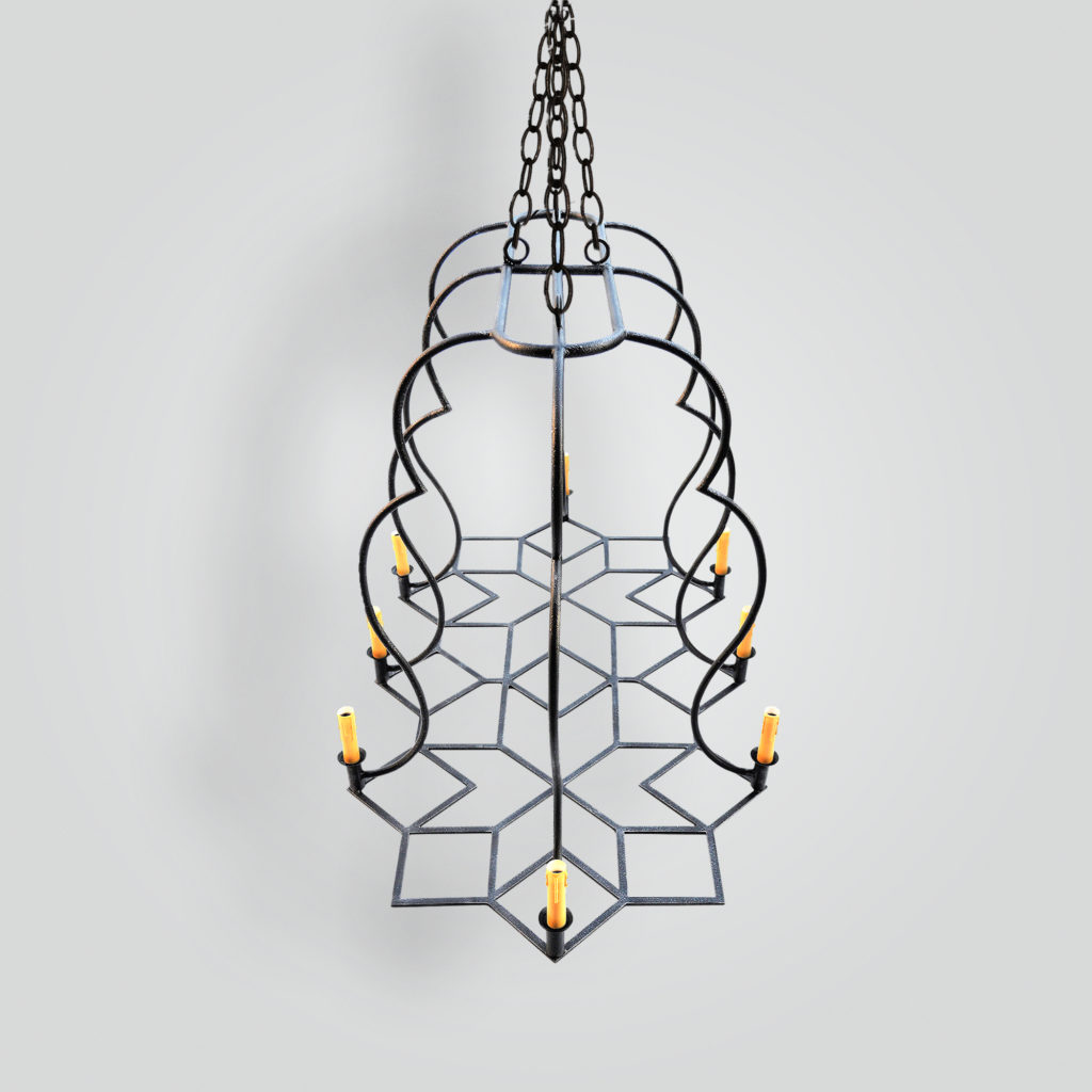 90545-cda Deutsch Dining Chandelier – ADG Lighting Collection