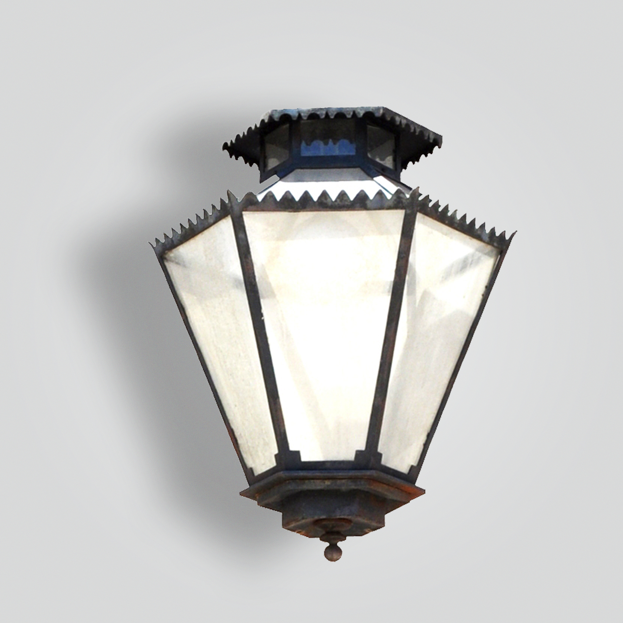 910-mb1-irbr-p-sh 6-sided Lantern – ADG Lighting Collection