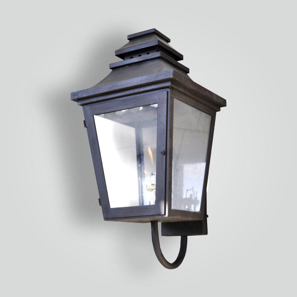 916 Monarch Gas Wall Lantern – ADG Lighting Collection