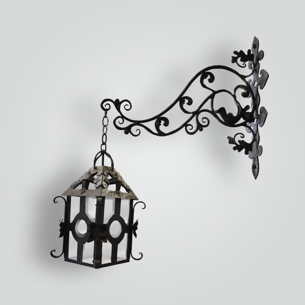 960-mb1-ir-wa-ba-lola-iron-lantern-and-arm-bracket – ADG Lighting Collection