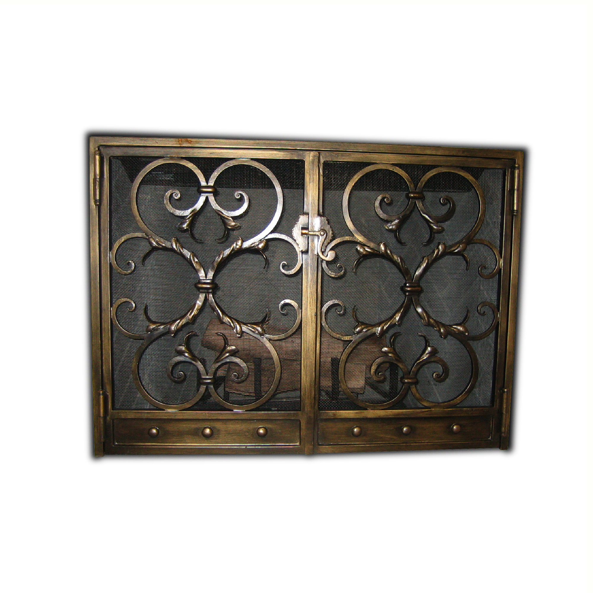 12003-ir Westchester Fireplace Screen – ADG Lighting Collection