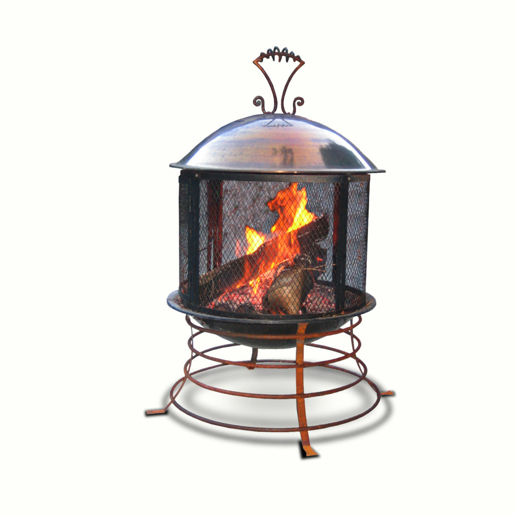 12008-ir Cooper Fire Pit – ADG Lighting Collection