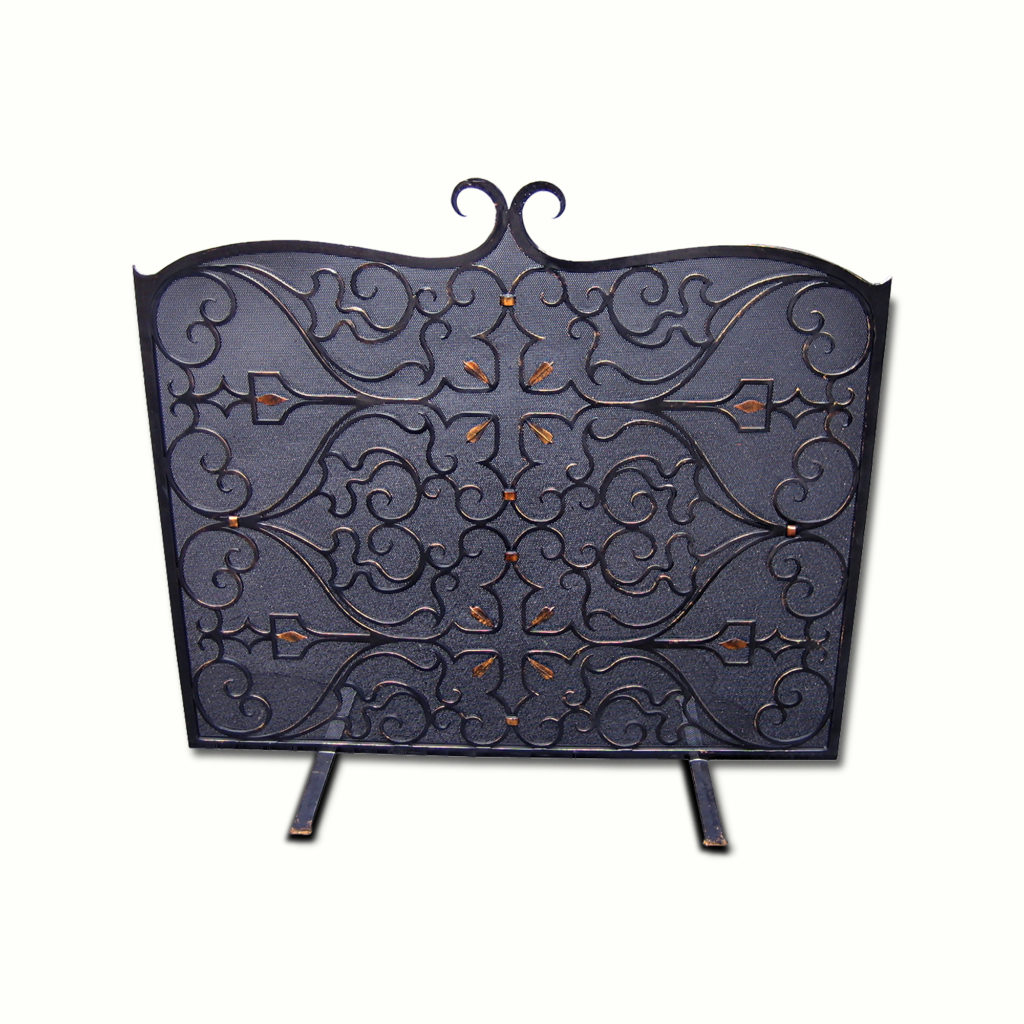 12905-ir Madrid Fire Screen – ADG Lighting Collection