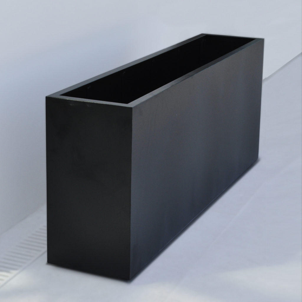 14000.2 Black Planter Long Rectangular – ADG Lighting Collection
