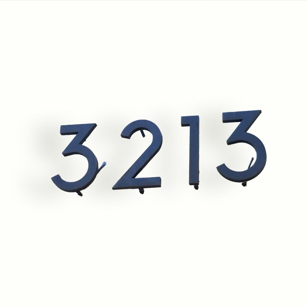 Address Numbers – ADG Lighting Collection