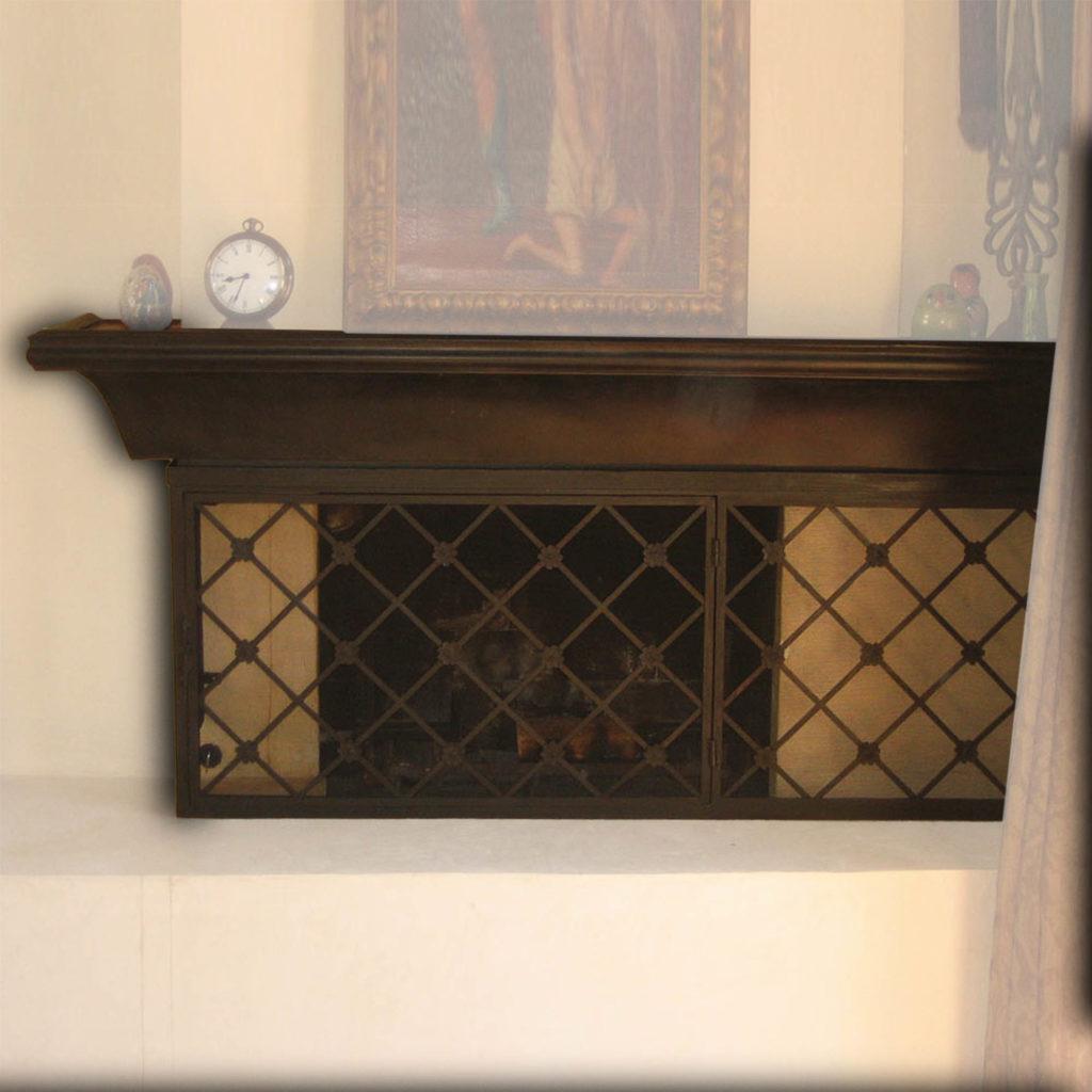 12005-ir westlake village firescreen ADG Lighting Collection